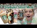 STARBUCKS SECRET MENU DRINKS -TASTE TEST!