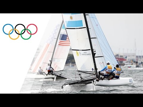 Rio Replay: Nacra 17 Mixed Medal Race