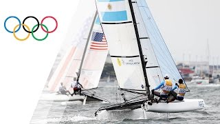Rio Replay: Nacra 17 Mixed Medal Race