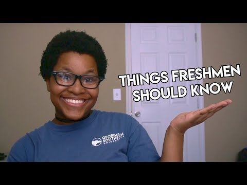 Things Freshmen Should Know | Georgia Southern University