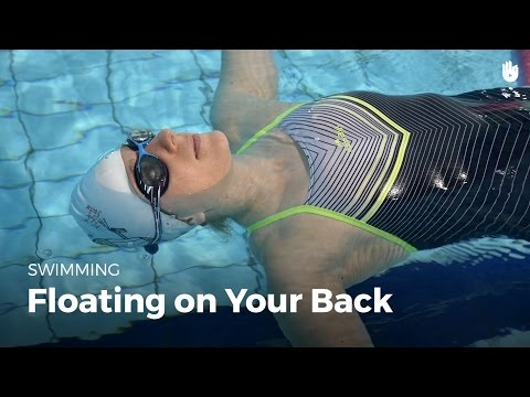 How to Float on Your Back   Fear of Water