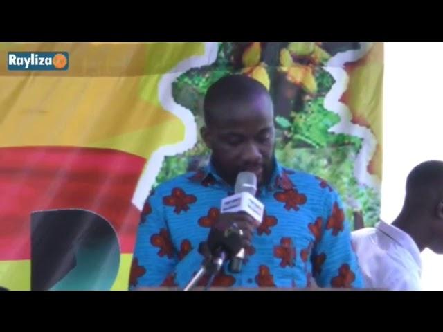 Dela Gadzanku, Chairman of Volta and Eastern regional chapter of AGI