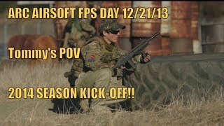 ARC AIRSOFT FPS DAY 12/21/13 |GAME 1|| 2014 SEASON KICK-OFF|GOPRO HERO 3