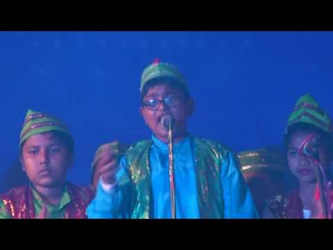 patriotic Qawwali Song by Delhi Public School Asansol Kids 2016-17