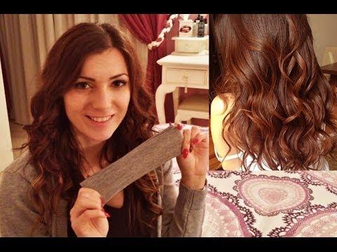 metodi per arricciare i capelli senza piastra