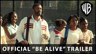 """KING RICHARD – Official """"Be Alive"""" Trailer – Warner Bros. UK & Ireland"""