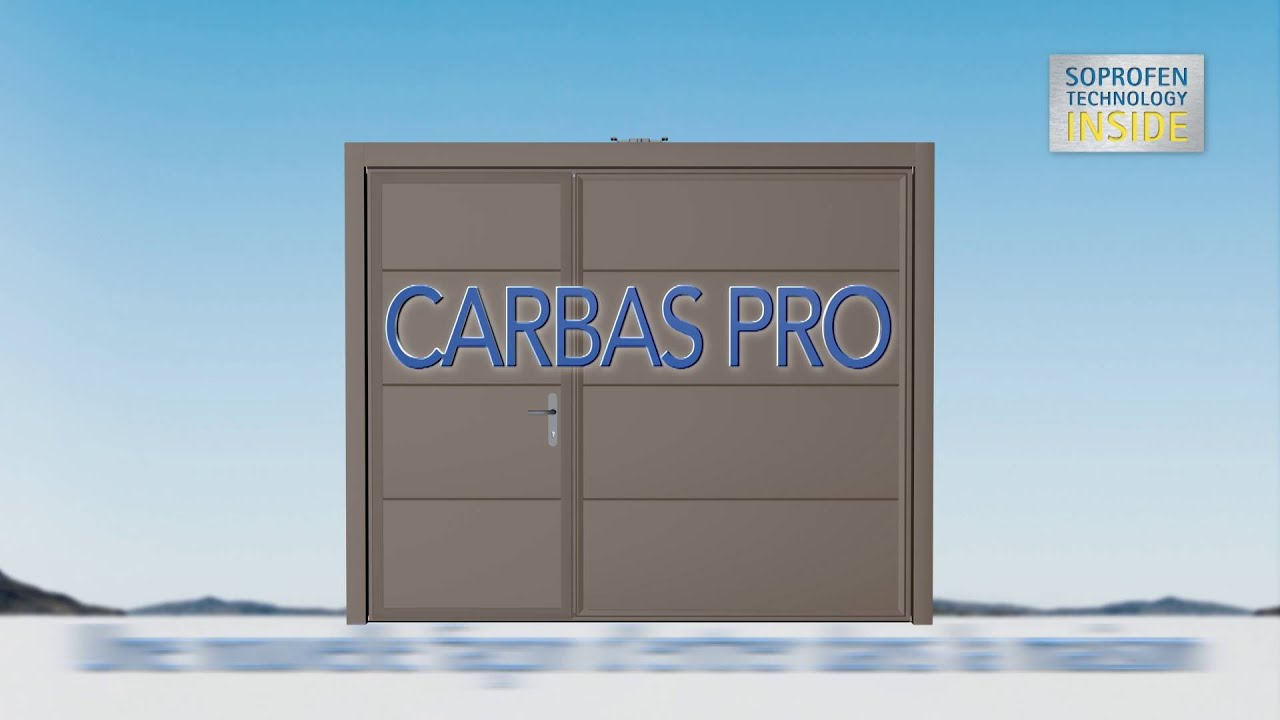 Porte de garage basculante carbas pro de soprofen youtube for Tbs pro porte de garage