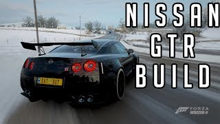 Nissan GTR Black Edition Road Racing Build Forza Horizon 4