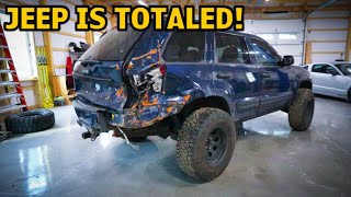 Rebuilding A Wrecked Jeep Grand Cherokee
