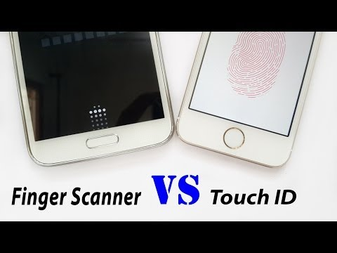 Samsung Galaxy S5 vs iPhone 5S | Fingerprint Scanners vs Touch ID
