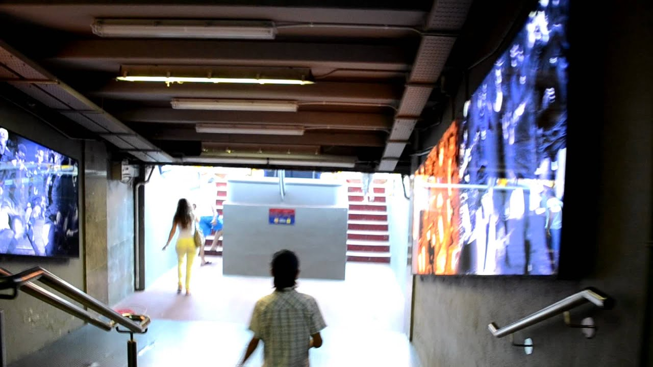 Camp Nou Tunnel Youtube