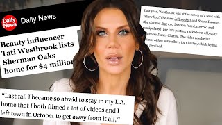 Tati Westbrook is RUNNING AWAY from drama and Jeffree Star fake charity work...