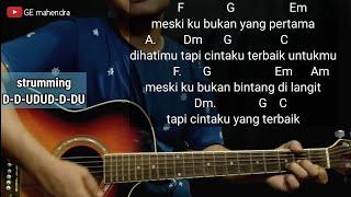 Kunci Gitar CINTA TERBAIK - CASANDRA | Chord Gitar Mudah