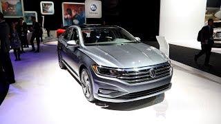 2019 Volkswagen Jetta - 2018 Detroit Auto Show