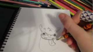 How To Draw Hot Dog The Skylander Part 1