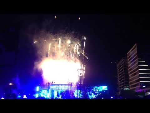Fire works Coldplay manila