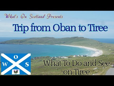 Ferry From Oban To Tiree What To See And Do