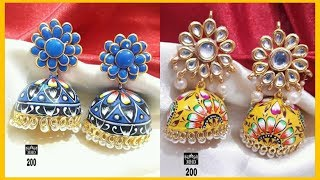 Latest Colourful Fancy Earrings Collections | Earrings Collections Exclusive