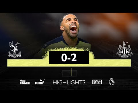 Crystal Palace 0 Newcastle United 2 | Premier League Highlights