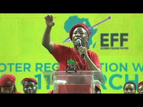 'Mayibuye iAfrika' - CiC Julius Malema
