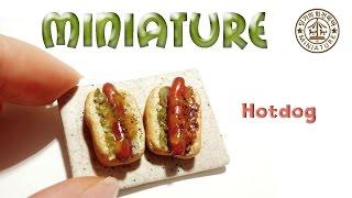 미니어쳐 핫도그샌드위치 Miniature  Hotdog…