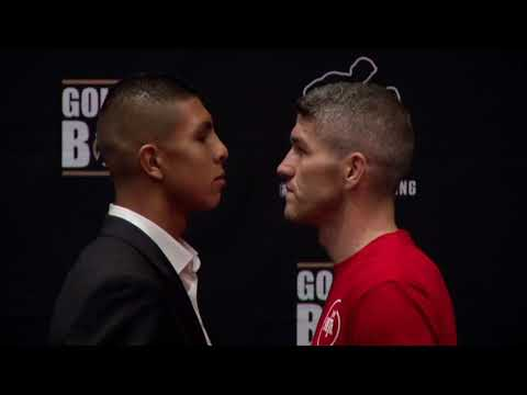 AND THE NEW?  - LIAM SMITH v JAMIE MUNGUIA - HEAD TO HEAD @ FINAL PRESS CONFERENCE / MUNGUIA-SMITH