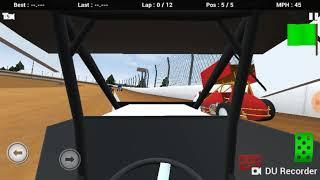 Dirt track racing with cdog