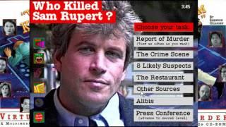 Virtual Murder: Who Killed Sam Rupert?