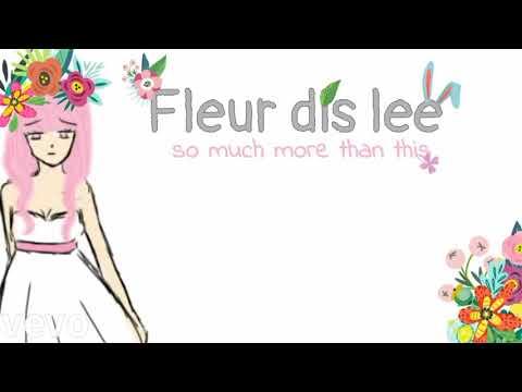 """Fleur dis lee """"so much more than this"""" by:Grace vanderwaal"""