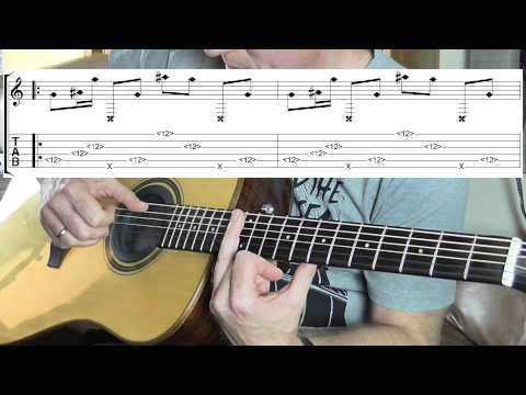 How to play Small Things by Ben Howard - guitar TAB lesson/tutorial