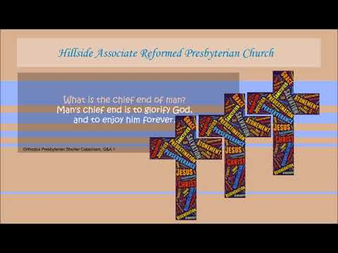 Hillside Associate Reformed Presbyterian Church - Sunday Sermon