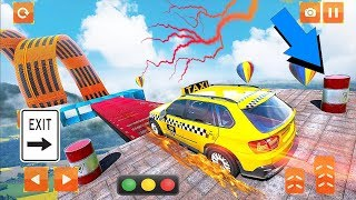 Ramp Car Stunts: Impossible Taxi Car Stunts Game 2 - Android Gameplay Video