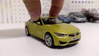 BMW Toy Cars Driving & Review on my table