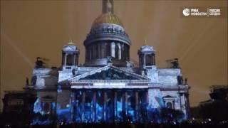 Фестиваль света в Санкт Петербурге