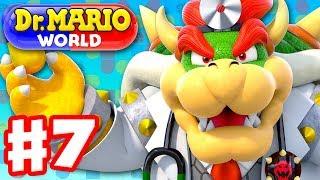 Dr. Mario World - Gameplay Walkthrough Part 7 - Dr. Bowser! Levels 71-80 3-Star! (iOS)