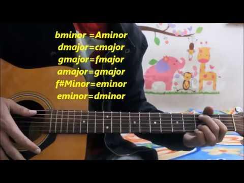 Dil Diyan Gallan - Atif Aslam - Hindi Guitar Cover Lesson Chords Easy   Tiger Zinda Hai  
