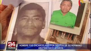Insólito: hombre es detenido por delitos cometidos por su hermano hace 22 años