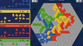 Blokus trigon (Rubik87 vs lfm) 18-03-2008