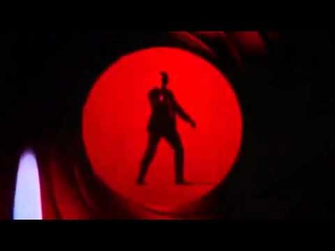 James Bond SKYFALL Gunbarrel