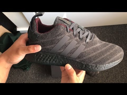 094d1542cc8 size  Adidas NMD R2 x Henry Poole Collab Unboxing+Indepth - YouTube
