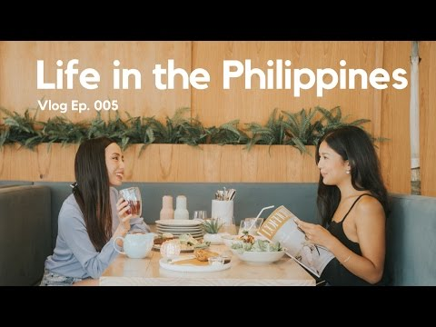 Life in the Philippines 🇵🇭 Ep. 005: Work & Cafe Life, Sunnies with Martine, Wholesome Table & more!
