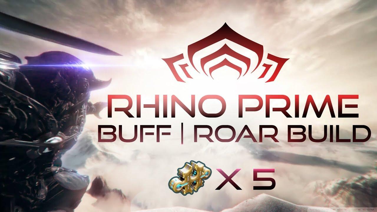 how to get rhino warframe 2018