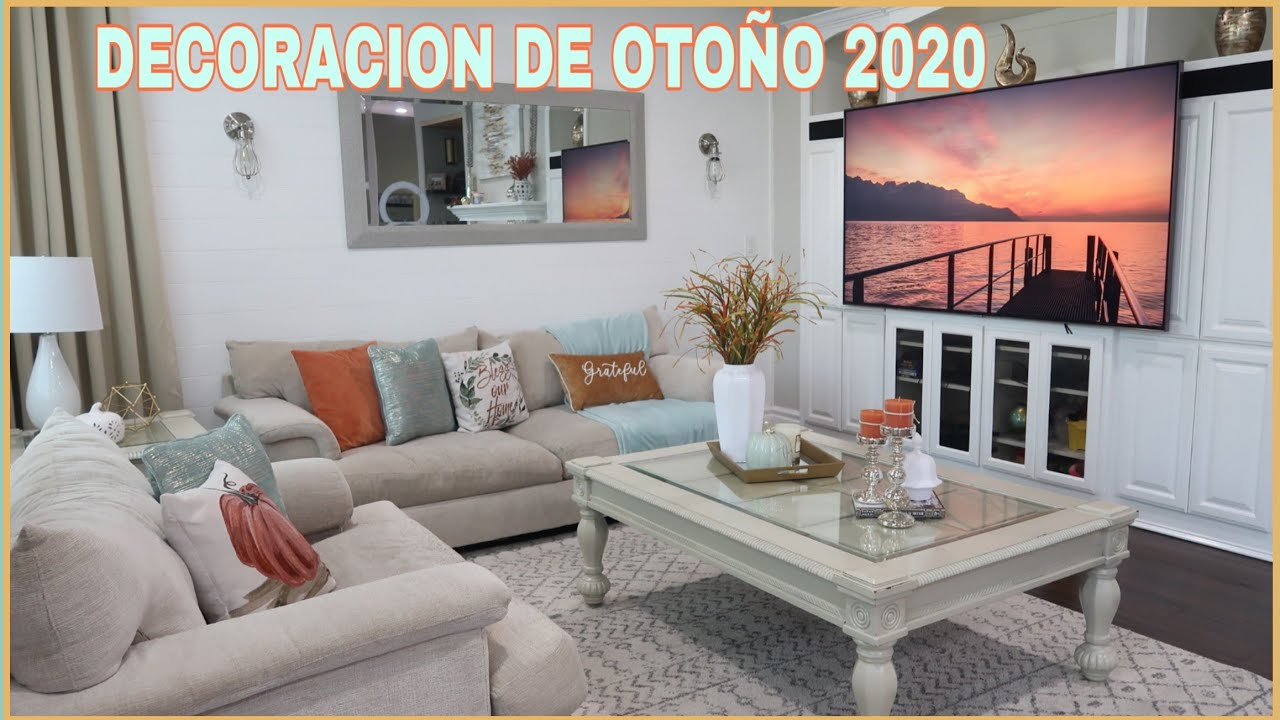 DECORACION DE LA SALA/OTOÑO 2020