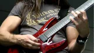 AMAZING GUITAR SOLO!!!! SUDDEN DEATH CHRIS BRODERICK of MEGADETH