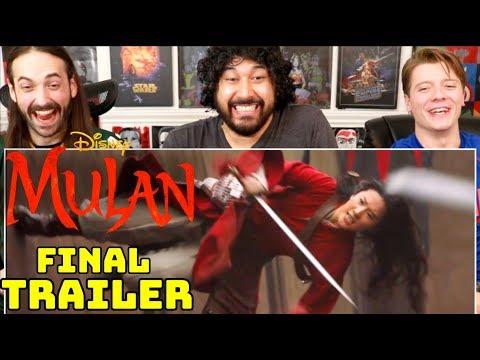 Disney's MULAN | FINAL TRAILER - REACTION!!!
