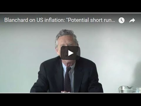 A conversation on the global economy with Olivier Blanchard (recorded on March 23rd, 2018)