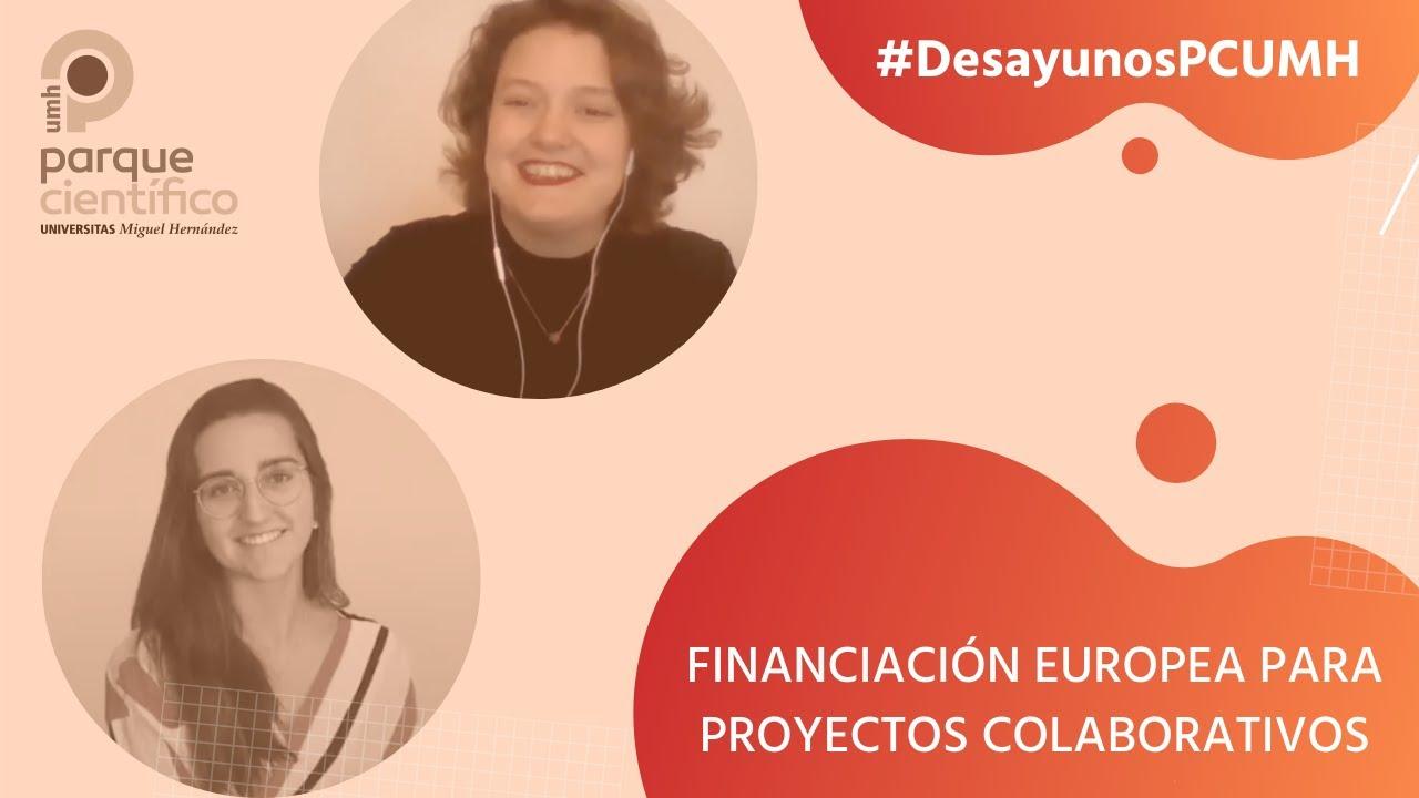 Financiación europea para proyectos colaborativos. Impartida por Charlotte Lindsey y Lucía Pérez