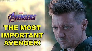 Why Hawkeye is the MOST Important Avenger | Explained in 6 Minutes