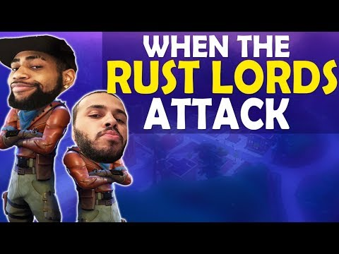 WHEN THE RUST LORDS ATTACK | HIGH KILL FUNNY GAME - (Fortnite Battle Royale) thumbnail