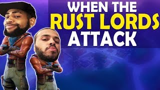 When the Rust Lords attack...  (Fortnite Battle Royale)